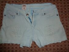 ANIMAL-LADIES SHORTS SIZE 12 DISTRESSED SUMMER BEACH CASUAL PARTY EVERYDAY CROP