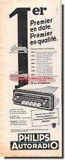 Publicité Advertising 1959 - Philips Autoradio -  (Advertising paper)