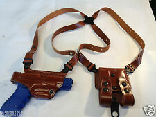 Galco SSII Shoulder Holster, LH Tan for H&K USP Compact 9, 40, 45 # SS429
