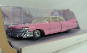 Matchbox Dinky DY7B 1959 Cadillac Coupe De Ville Pink & White 1:43