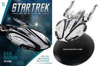 Eaglemoss Star Trek Online Avenger Class Federation Battlecruiser Class Ship NEW