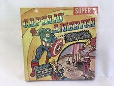 Vintage Super 8mm Film Movie Captain America vs Zemo Factory Sealed MINT