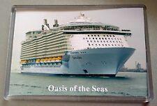 Royal Caribbean OASIS OF THE SEAS Large Fridge Magnet Cruise Ship Southampton
