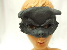 Black Cat Mask  Latex Rubber   Witch  Horror  Halloween