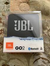 JBL GO 2 Waterproof Ultra Portable Bluetooth Speaker , Black
