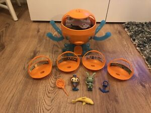 Octonauts Octopod Adventure Playset Lights And Sounds - Figures And Sea Creature