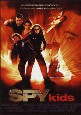 Spy Kids / Spy Kids 2 / Spy Kids 3 (DVD) Lote 3 películas NUEVO