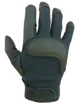 HWI Army Combat Gloves, Green, Large, Touch Screen Capacitive, made with Kevlar