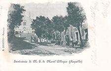 1606) SANTUARIO DI N.S. DI MONT'ALLEGRO RAPALLO.