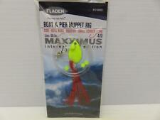 1 FLADEN MAXXIMUS RED BOAT AND PIER MUPPET RIG COD BULL HUSS LING SEA FISHING
