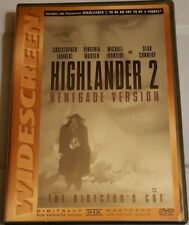 New ListingHighlander 2: Renegade Version: The Director's Cut (Dvd, Ws) Free Shipping!