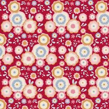 Limited Edition Tilda Candy Bloom Fabric. Candyflower in Red. by The FQ