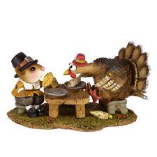 "Wee Forest Folk M-592 ""Turkey for Dinner!"""