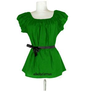 Chemise Blouse Gauze Cotton Peasant Shirt,Halloween medieval, Renaissance Costum