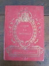 LA SENTINELLE , société d'édition et de publications , PARIS VI ème , O .AUBERT