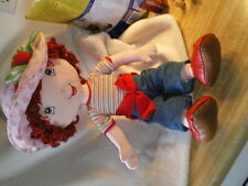 "Strawberry Shortcake Rag Doll 20"", Kelly Toys"