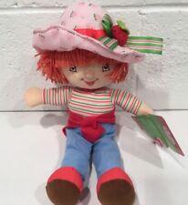 "NOS Strawberry Shortcake Plush Doll American Greetings KellyToy 2008 13"""