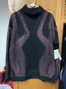 NWT Nike Sportswear City Ready Black Training Sweatshirt Women's S CU5124-010