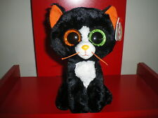Ty Beanie Boos FRIGHTS the cat 6 inch NWMT.  HALLOWEEN BOOS - NEW IN HAND NOW