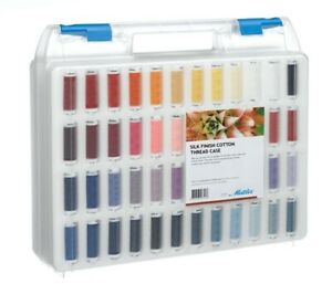 Mettler 100% Cotton Silk Finish Standard 98 Pack Sewing Thread Embroidery Crafts