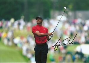 Tiger Woods Autographed signed photo