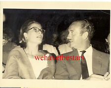 Vintage Grace Kelly David Niven IN FRANCE '63 CANDID PRESS Publicity Portrait