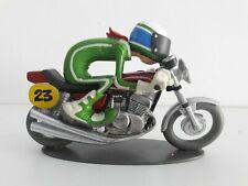 JOHN KAWASAKI 400 S3 1974 1/18 JOE BAR TEAM RESINE GLENAT SERIE 2 MOTO BIKE