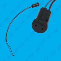 8x G4 Base Black Lamp Holder Socket Cable, Halogen, LED Bulb Down Light Fitting
