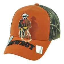 Cowboy Rodeo Lasso Rope Ranch Horse Country Adjustable  Hat Cap Two Tone