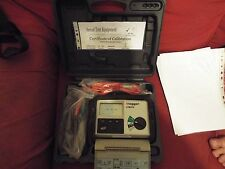Megger LTW315 Loop Tester Calibration till 02/05/2018 USED