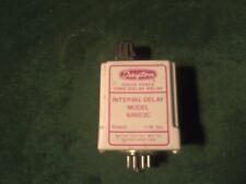 Dayton 6X603C Interval Time Delay Timing Relay 1-10 SEC 120VAC 50/60Hz~ Aisle K