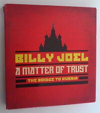 2 CD / 1 DVD BOX SET *  BILLY JOEL. A MATTER OF TRUST. THE BRIDGE TO RUSSIA *