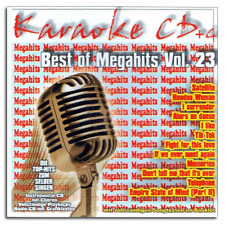 KARAOKE CDG CD + G-Best of MegaHits vol.23 - pop e chart MegaHits-Merce Nuova