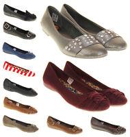 Ladies Rocket Dog Shoes Womens Girls Ballerinas Flats Pumps Sz Size 3 4 5 6 7 8