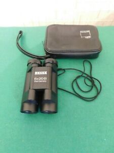 Vintage Carl Zeiss 8x20 Compact Binoculars from West Germany with leather case