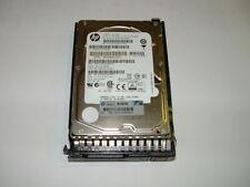 "Lot of 2 __ HP 146gb 15K 2.5"" SAS 653950-001 Hard Drive with Tray"
