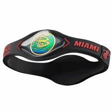 Authentic Power Balance Silicone Wristband - Miami Heat - XL