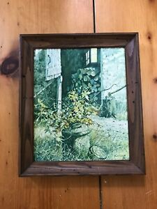 "Carolyn Blish Rustic Framed Giclee Print ""October Leaves"""