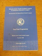 14/05/2014 Walsall Junior Ligue de la jeunesse U14 Stan Eccleston Cup Final: Légions LIO