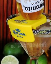 8 CORONITA RITA Bottle Holder Clips. Corona in your Margarita Glass Cocktail.
