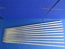 10 x Zaunpfahl Pflanzstab Rankhilfe Zaunpfähle T-Profil Pfähle Stäbe 1400 mm