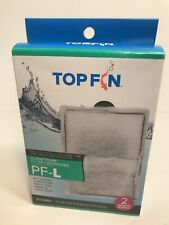 """NEW 2 PK Top Fin SilenStream Filter Cartridges PF-L Large 6.5"""" x 4.5"""" SHIPS NOW"""