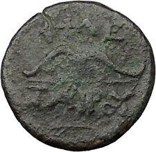 Pergamon in Asia Minor 282BC Ancient Greek Coin Athena War Magic BOW i31535