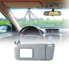 Sun Visor sunshade for 07-10 11 Toyota Camry Drivers Side WithOut Sunroof Gray