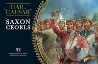 SAXON CEORLS - HAIL CAESAR - WARLORD GAMES - DARK AGES