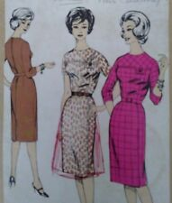 """Vintage 1950s Le-Roy Dress Sewing Pattern #655 Bust 34"""" 86cms"""