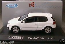 VW VOLKSWAGEN GOLF V 5 GTI WEISS WELLY 1/43 WHITE 1:43 BLANCHE BIANCA 2004