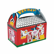 8 x Farm Party...Lolly Box...Treat ..Candy Box...Sweets...Cake...Loot...Favors