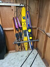 Vintage Dick Pope Cypress Gardens Wooden Water Skis Connelly Acapulco Lot