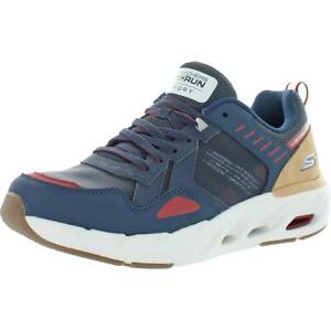 Skechers Mens Go Run Fury-Switches Navy Sneakers Shoes 9.5 Medium (D)  4910